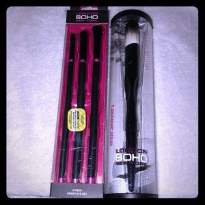 🆕4 Piecie London Soho Brush Set Lot 3